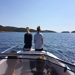 Blue Lagoon and Trogir