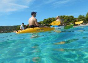 Sea Kayaking Blue Lagoon from Kastela