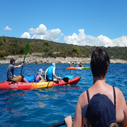 Sea Kayaking Blue Lagoon