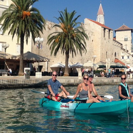 Sea Kayaking around Trogir