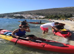 Rent a kayak with Kastela Excursions