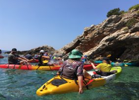 Sea Kayaking Blue Lagoon from  Kastela