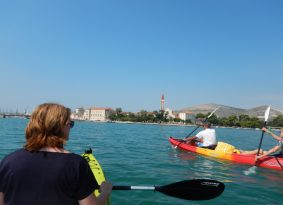 Sea kayaking from Kastela   Sea kayaking around Trogir just right for you !