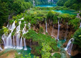 Plitvice from Kastela