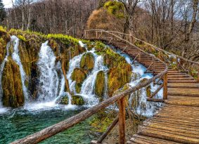 plitvice national park Croatia from Kastela