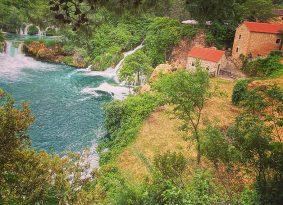 Krka-water-mills