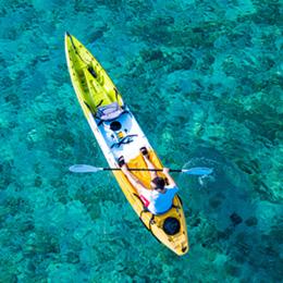Kajakverleih mit Kastela Excursions